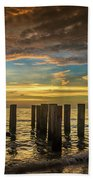 Bridge Of The Past Beach Towel