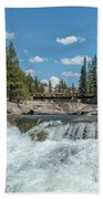 Bridge On The Pct Beach Towel