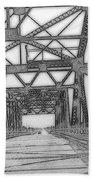 Bridge Over Mississippi Beach Towel