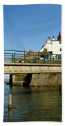 Bridge Over Staithes Beck Beach Towel