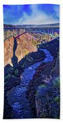 Bridge Over The Crooked River Gorge Beach Towel