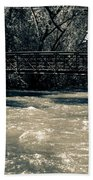 Bridge Over Water Beach Towel