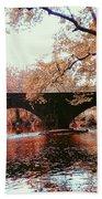 Bridge Over Yellow Breeches Creek Beach Towel
