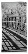 Bridge Shadows Beach Towel