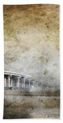Bridge Over River Beach Towel
