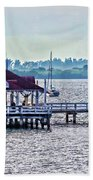 Bridge Street Pier Beach Towel