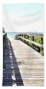 Bridge To Paradise Gp Beach Towel