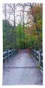Bridge To Paradise - Wissahickon Valley Beach Sheet