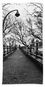 Bridge To The East River Beach Towel