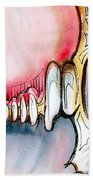 Bridge To The Land Of Hairy Knuckles Beach Towel