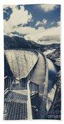 Bridges And Outback Dams Beach Towel