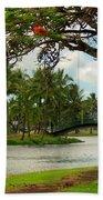 Bridges At Wailoa Beach Towel