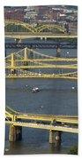 Bridges Of Pittsburgh Beach Towel