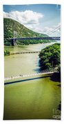 Bridges Through The Valley Beach Towel