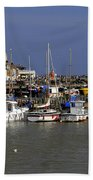 Bridlington Harbour Beach Towel