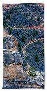 Bright Angel Trail @ Grand Canyon Beach Towel