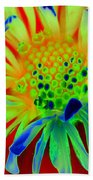 Bright Flower Beach Towel