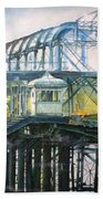 Brighton's West Pier-lone Survivor Beach Towel