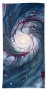 Brigid The Goddess Of Fire Poetry And Healing Beach Towel