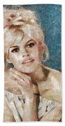 Brigitte Bardot, Actress Beach Towel