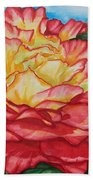 Brilliant Bloom Beach Towel