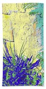 Brimstone Blue Beach Towel