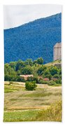 Brinje Village In Nature Of Lika Beach Towel