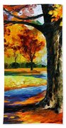 Bristol Fall  Beach Towel