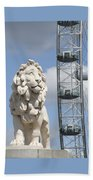 Britannia Lion Beach Towel