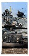 British Army Challenger 2 Main Battle Tank   Beach Towel
