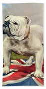 British Bulldog Beach Towel