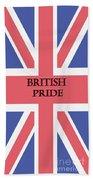 British Pride Beach Towel