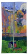 Brittany Landscape Beach Towel