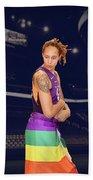 Brittney Griner Lgbt Pride 2 Beach Towel