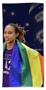Brittney Griner Lgbt Pride 4 Beach Towel
