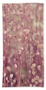 Briza Media Limouzi Decorative Quaking Grass Beach Towel