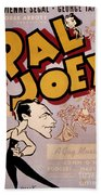 Broadway: Pal Joey, 1940 Beach Towel