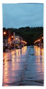 Broadway St. Excelsior Springs, Mo Beach Towel