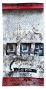 Broken Beach Towel
