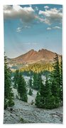 Broken Top, Oregon Beach Towel