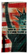 Bronx Graffiti - 4 Beach Towel