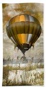Bronze Beach Ballooning Beach Towel