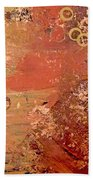 Bronze Oxidation Beach Towel