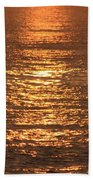 Bronze Reflections Beach Towel