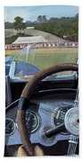 Brooklands From The Hot Seat  Beach Towel