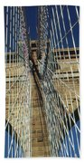 Brooklyn Bridge New York City Beach Towel