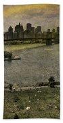 Brooklyn Bridge Park Beach Towel