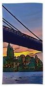Brooklyn Bridge Collection - 2 Beach Towel