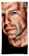 Bruce Willis Collection Beach Towel