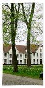 Bruges Begijnhof 2 Beach Towel